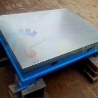 铸铁研磨平台 研磨平板 压砂平板 嵌砂平板