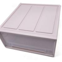 抽屉式塑料透明衣物收纳盒整理箱