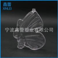 塑料漂流瓶厂家直销定制加工创意新款蝴蝶样式透明漂流瓶
