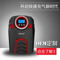 易道车载充气泵汽车轿车便携式打气泵加气12v电动轮胎打气筒车