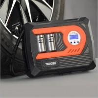 车载充气泵小轿车便携式汽车轮胎多功能12v加气用打气筒易道