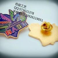 金钥匙徽章,高档徽标胸针、酒店商务成套徽章、员工佩戴徽章定制