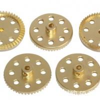 加工各种铜制齿轮