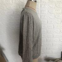 厂家直销 专业制造 圆领单套件女式休闲灰色长袖