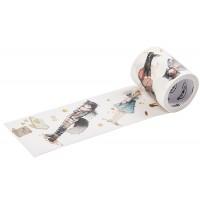 来图定制烫金特油猫咪装扮可爱少女DIY装饰和纸胶带