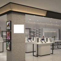 儋州眼镜展柜展示柜-耀东展柜定制厂家13970968121