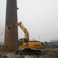 陕西烟囱拆除-专业的陕西烟囱拆除就在诚信
