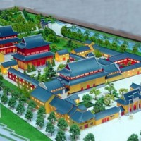 迅捷的宁夏古建模型制作出自宁夏精武模型-平罗古建模型材料