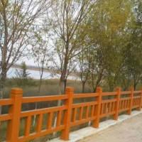 宁夏仿木围栏-供应宁夏质量好的仿木护栏