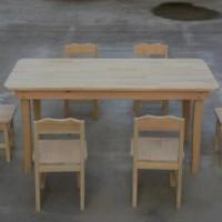 幼儿园实木桌子加工-买高性价幼儿园木桌优选天景木业