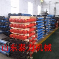 DWX系列柱塞式单体液压支柱结构及工作原理