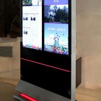 深圳55寸人民日报双屏广告机65寸大屏幕广告机厂家