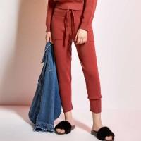 时尚运动休闲束脚裤