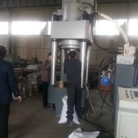 高产量铝屑压块机铁屑压块成型机特点可定制各种规格q