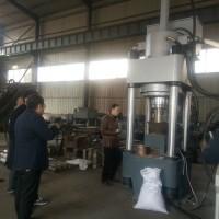 高效率铁屑压块机铜屑压块机生产厂家结构简单型号齐全q
